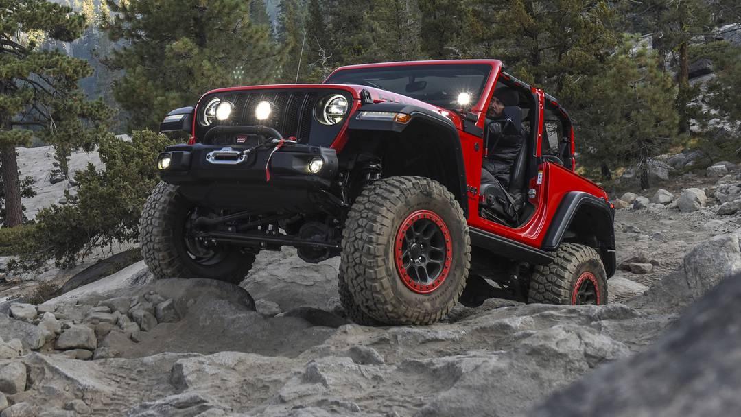 Jeep на бездорожье