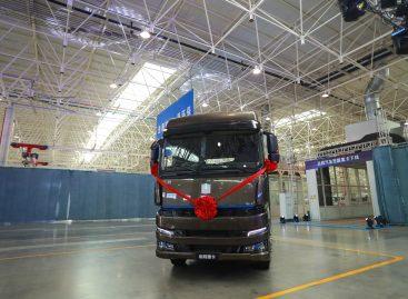 Представлен первый в мире грузовик, работающий на чистом метаноле