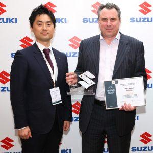 Автомир стал самым успешным дилером Suzuki по итогам 2018 года