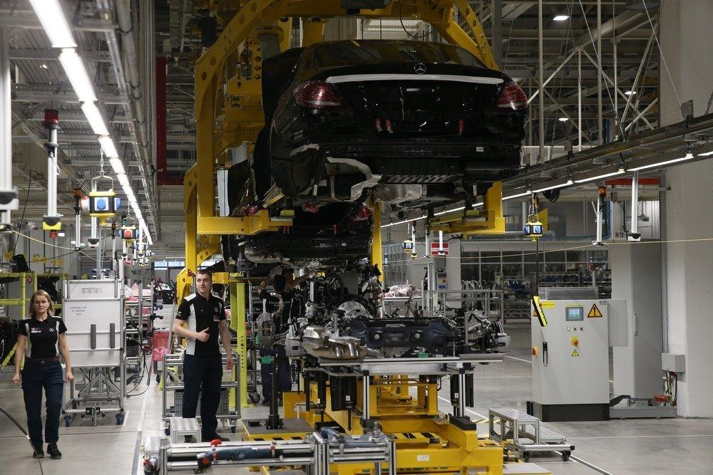 Завод Mercedes в Солнечногорске