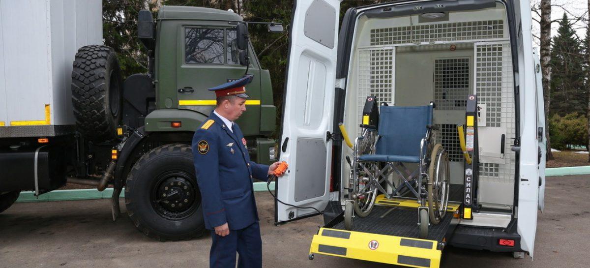 Появились специализированные автозаки для инвалидов и женщин с детьми