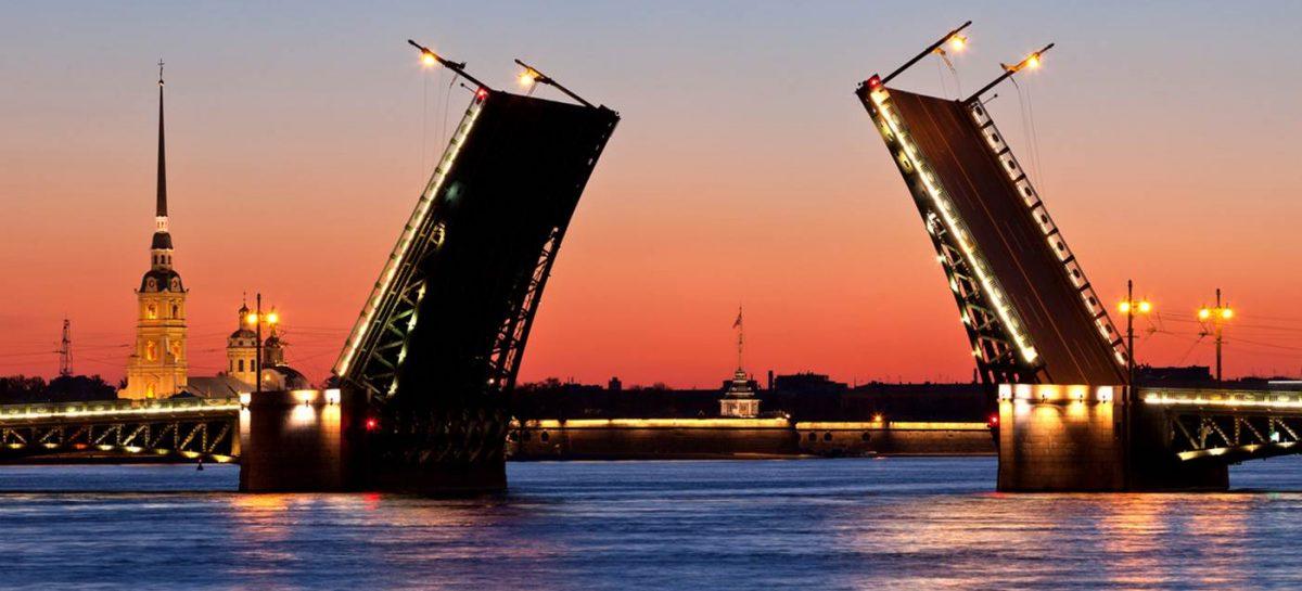 Опубликован график разводки мостов Санкт-Петербурга