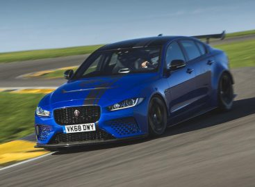 Jaguar XE SV Project 8 установил новый рекорд на автодроме в Дубаи