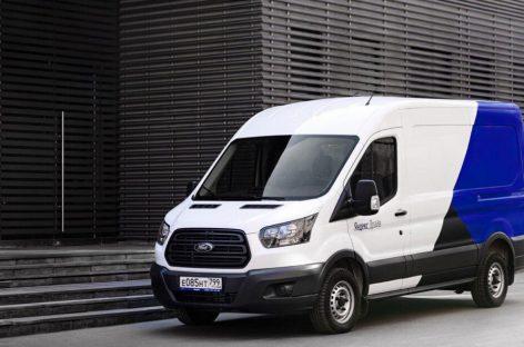 Ford Transit доступны клиентам «Яндекс.Драйв» в Москве