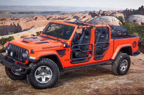 Jeep представил шесть шоу-каров на тему возрожденного пикапа Gladiator
