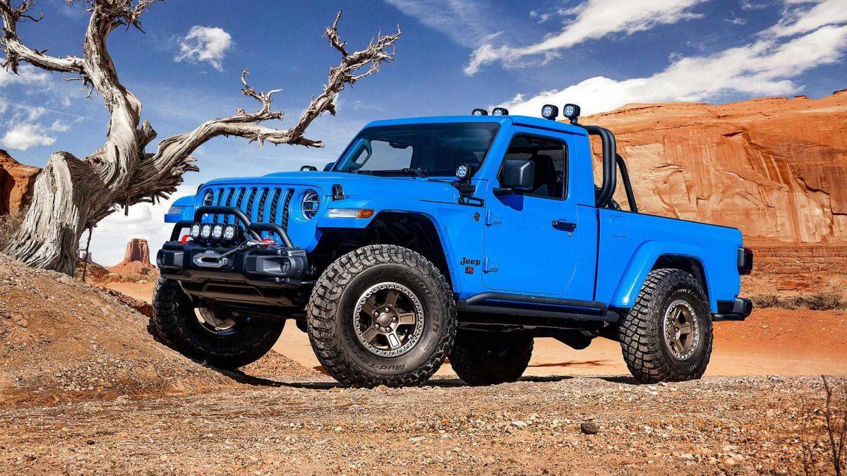 автомобиль Jeep Gladiator J6