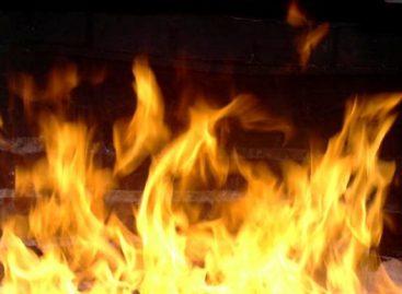Пожар на станции Шиес