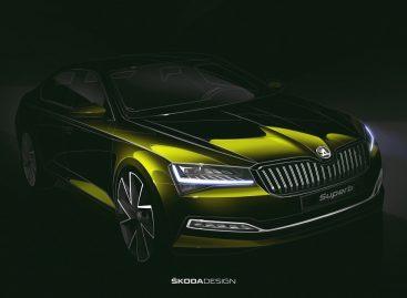 Škoda публикует первое изображение обновленного Superb
