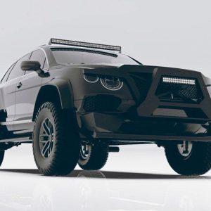 В сети появился самый ужасный тюнинг автомобиля Bentley Bentayga