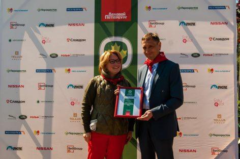 Завод Nissan в Санкт-Петербурге принял участие в экологическом проекте «Аллея Бизнеса»