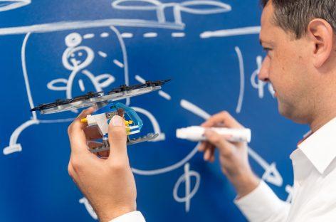 Технология Bosch научит транспортные средства летать