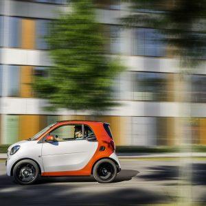 Smart Fortwo - отличная маневренность и удовольствие от вождения в городе