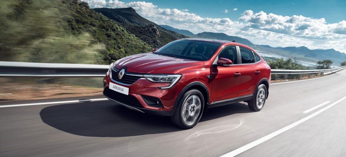 Renault Россия объявляет о старте продаж нового кроссовера Arkana