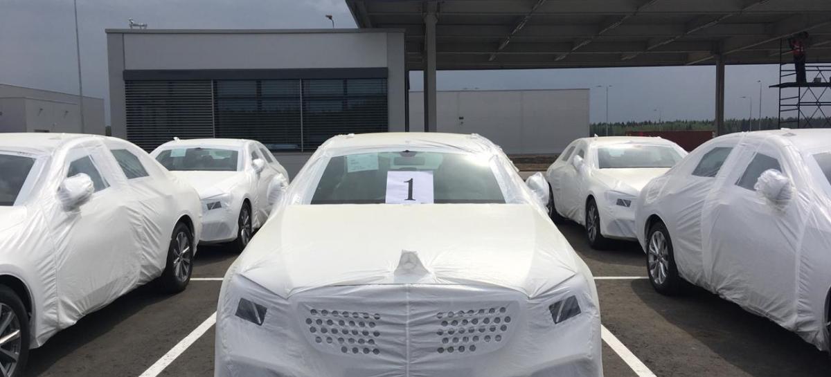 Первые седаны Е-Класса сошли с конвейера в России