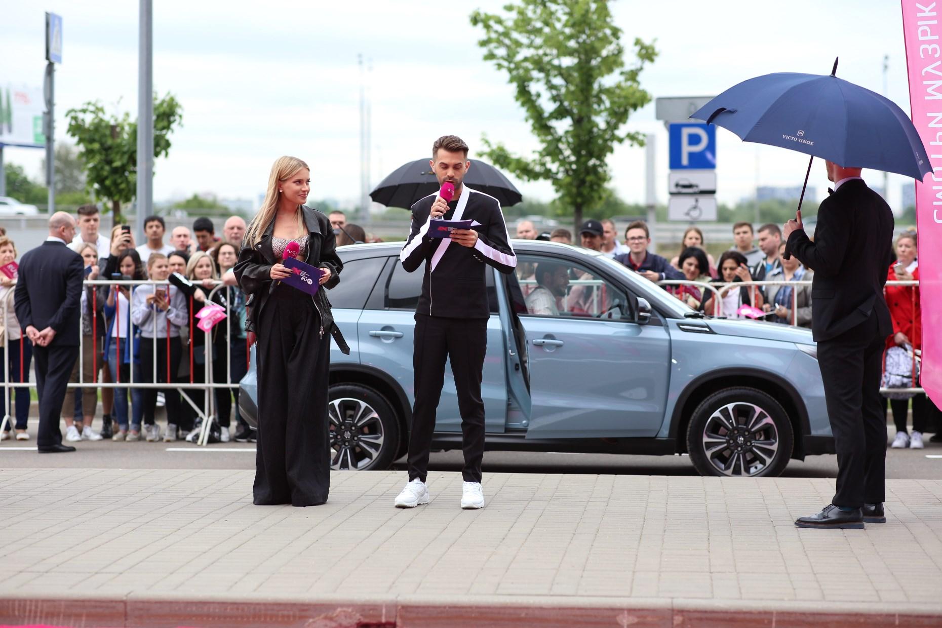 Suzuki Vitara на премии RU.TV