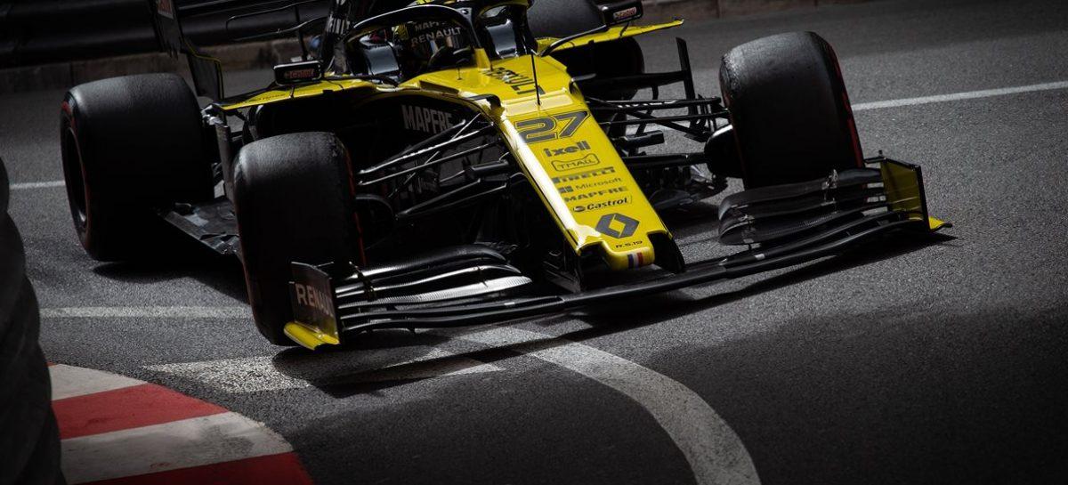 Renault F1 Team вернулась с 9-местом в Гран-при Монако 2019