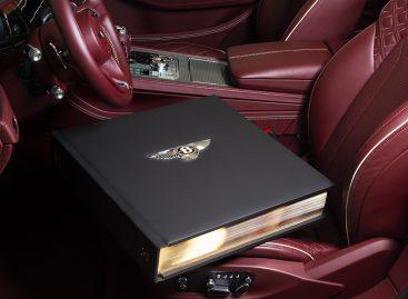 К столетнему юбилею Bentley Motors выпущены три шикарных версии книги Bentley Centenary