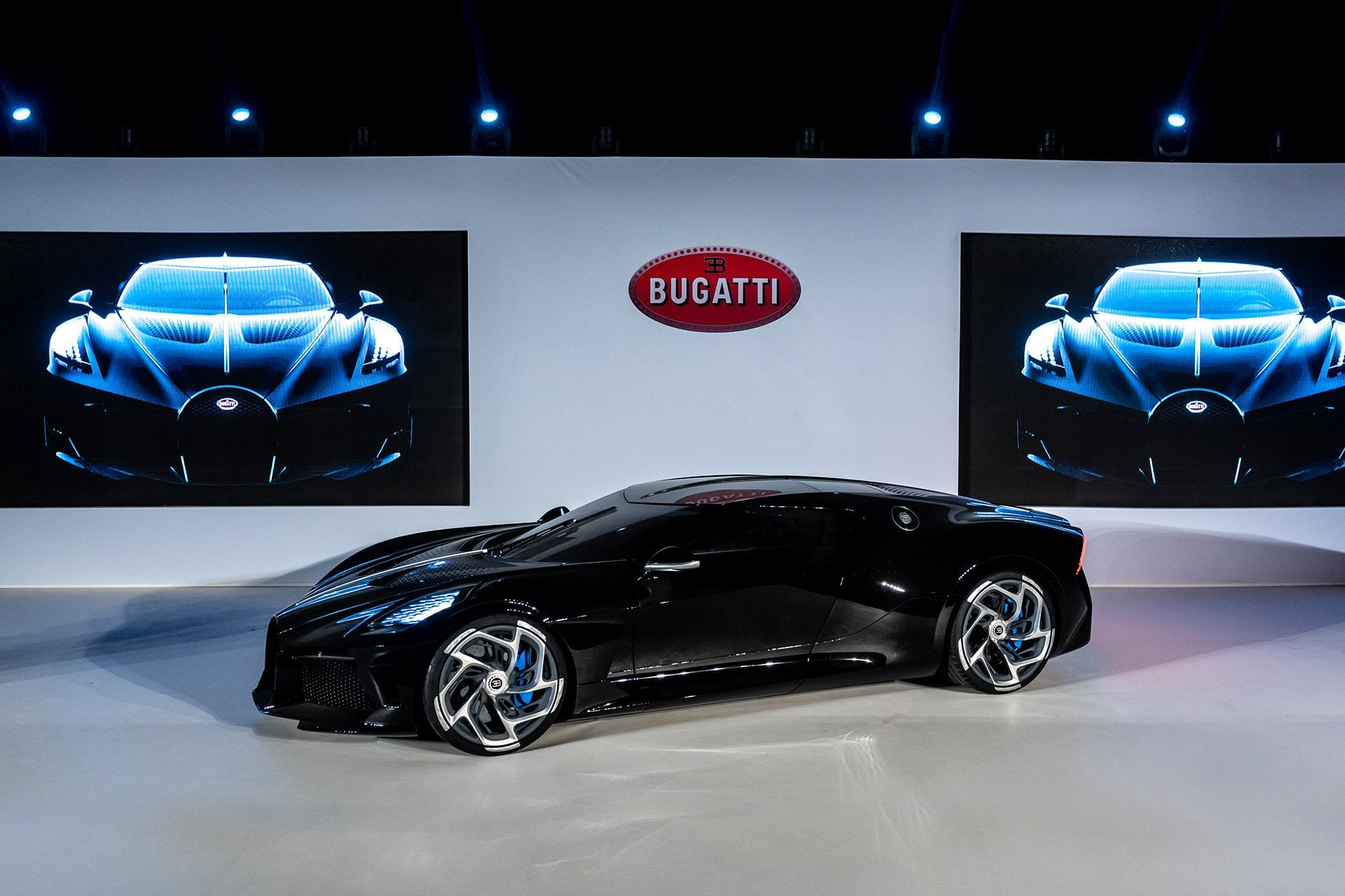 BugattiVoiture Noire