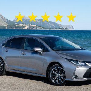 Toyota Corolla и RAV4 получили максимальную оценку -  5 звезд - в рейтинге Euro NCAP 2019
