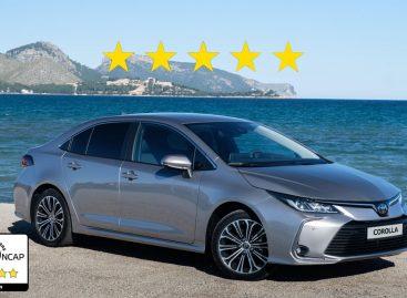 Toyota Corolla и RAV4 получили максимальную оценку –  5 звезд – в рейтинге Euro NCAP 2019