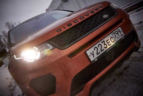 Тест-драйв Land Rover Discovery Sport – футуристичный, спортивный экспедиционник