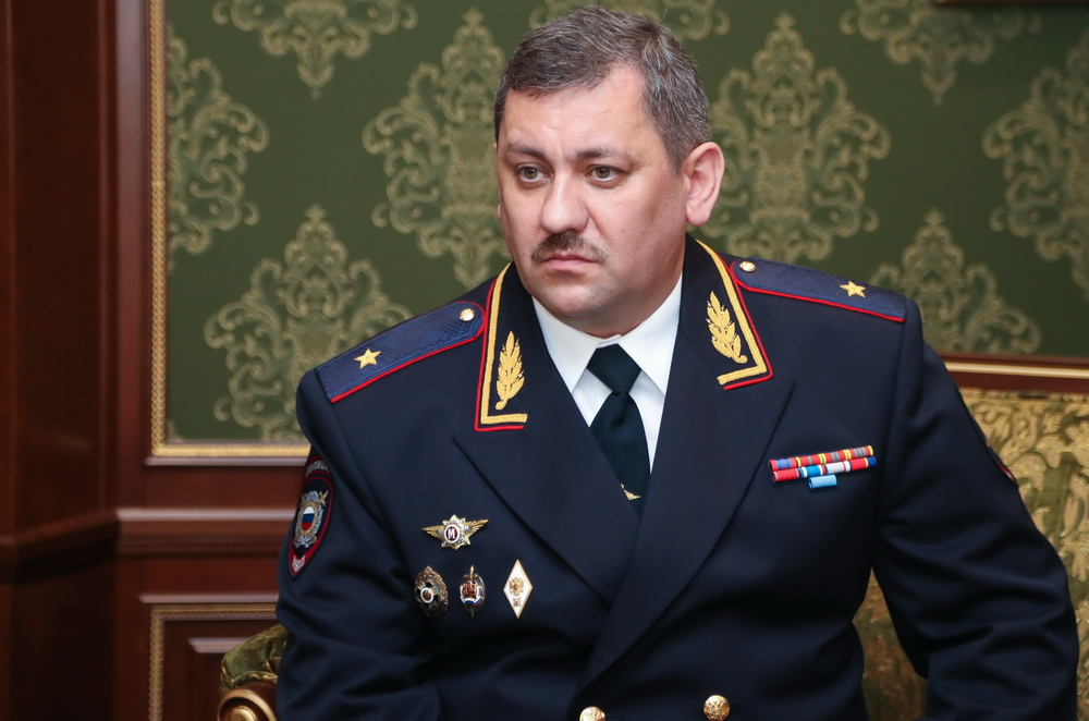 Дмитрий Кава Министр МВД Ингушетии