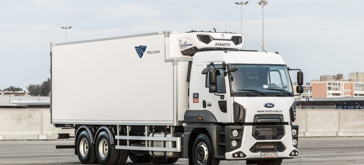 Ford Trucks 2533 HR для ЗАО «Айсбит»