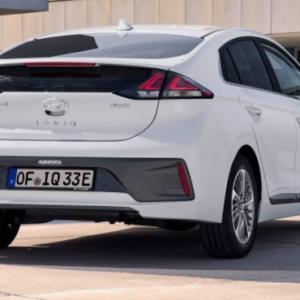 Электромобиль Hyundai Ioniq получил новый дизайн и больший запас хода