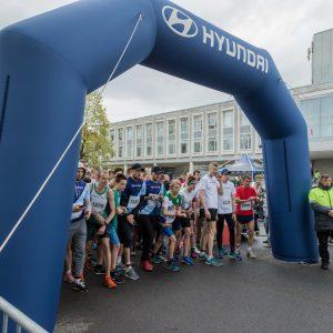 Российский завод Hyundai Motor в седьмой раз поддержал Сестрорецкий полумарафон