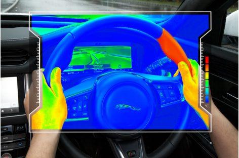 Сенсорное рулевое колесо – новая разработка инженеров Jaguar Land Rover