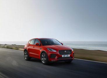 Jaguar представляет специальную версию E-PACE Chequered Flag