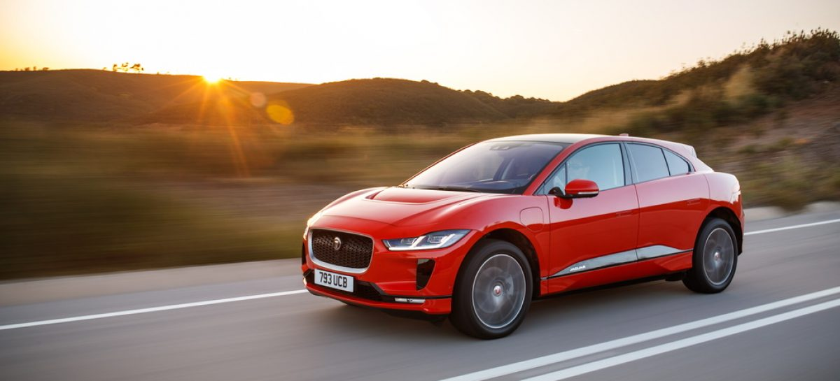 Jaguar I-PACE стал самым продаваемым электрокаром в России