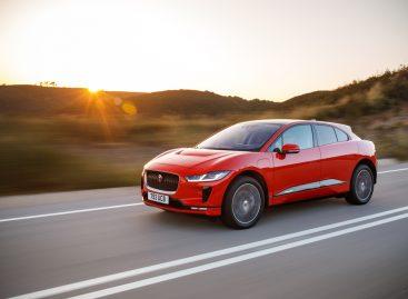 Электромобиль Jaguar I-PACE  – победитель премии «ТОП-5 АВТО» в номинации «Лучший компактный кроссовер»