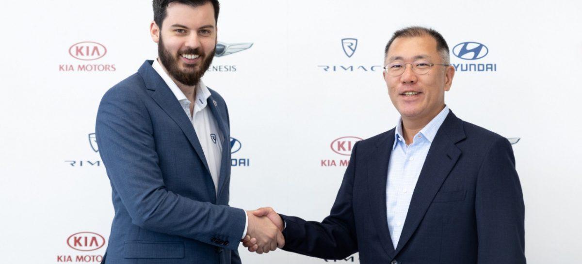 Kia Motors и Hyundai Motor Group заключила партнерское соглашение с Rimac для разработки мощных электромобилей