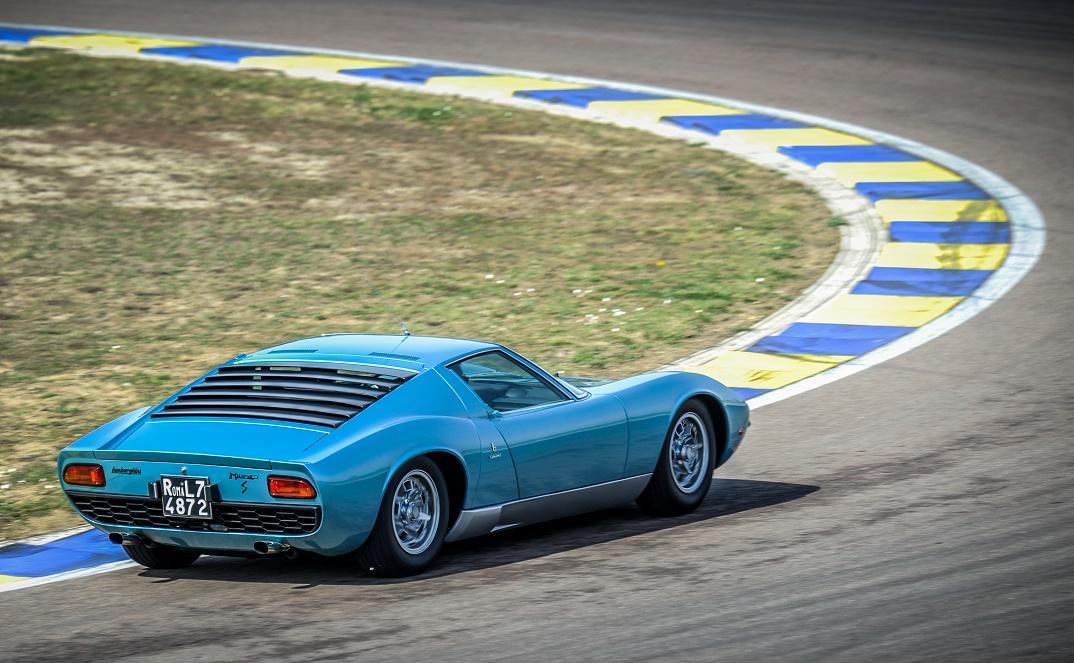 Lamborghini Miura P400 S 1971 года