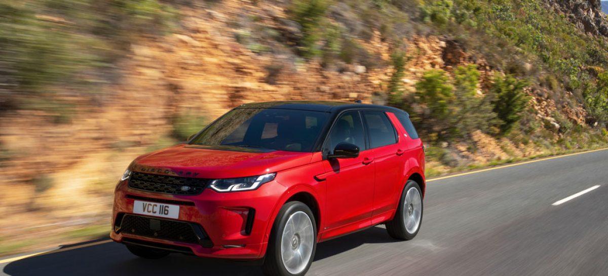 Обзор универсального и компактного Land Rover Discovery Sport