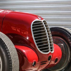 Maserati празднует победу Tipo 6CM в Targa Florio 1939 года