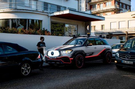 Mercedes-Benz представил кроссовер с «роботом-пылесосом» и видеоняней
