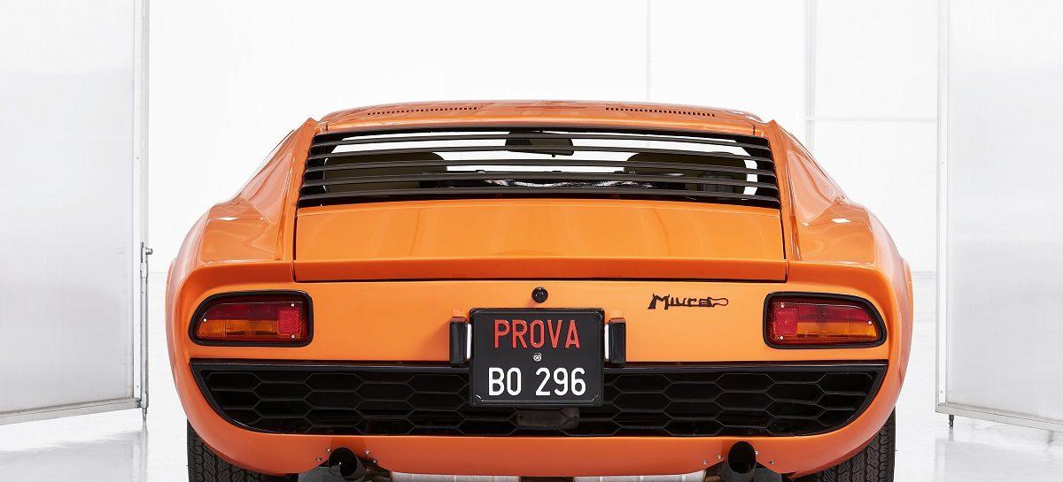 Подразделение Lamborghini Polo Storico сертифицировало суперкар Miura P400 из  фильма «Ограбление по-итальянски»
