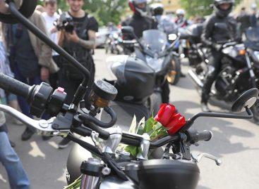 Мотозаезд в память о Сергее Доренко прошел в Москве
