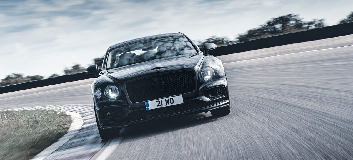 Bentley Motors презентует новый роскошный седан Flying Spur