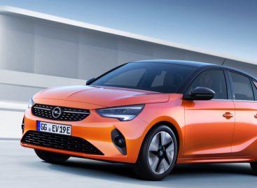 Opel представил миру новую электрическую модификацию Corsa-e