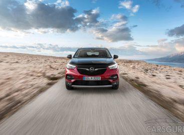 Opel представил гибридный кроссовер Grandland X
