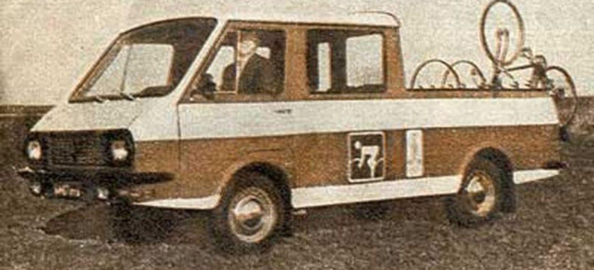 Найден пикап РАФ для обслуживания Олимпиады-80
