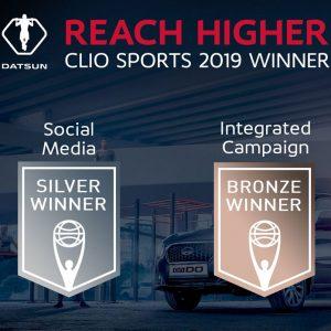 Автомобильный бренд Datsun совместно с TBWA/Moscow и Digital Arts Network Moscow победитель премии Clio Sports Awards