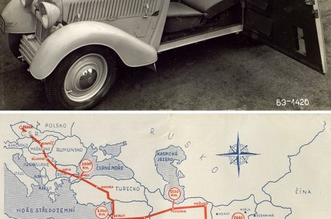 Škoda Popular: 85 лет легендарному автопробегу до Калькутты