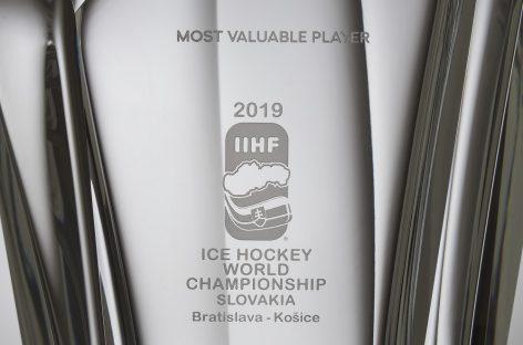 Студия ŠKODA Design создает награду для самого ценного игрока Чемпионата мира по хоккею IIHF 2019