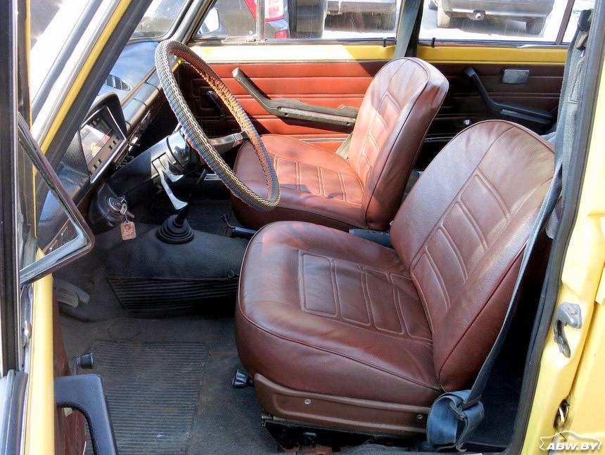 ВАЗ-21013 1981 г салон