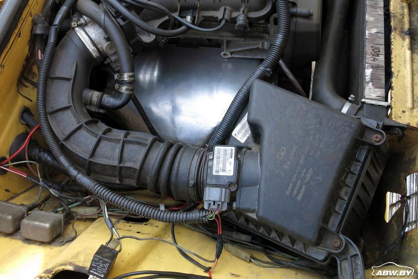 ВАЗ-21013 1981 г система вентиляции
