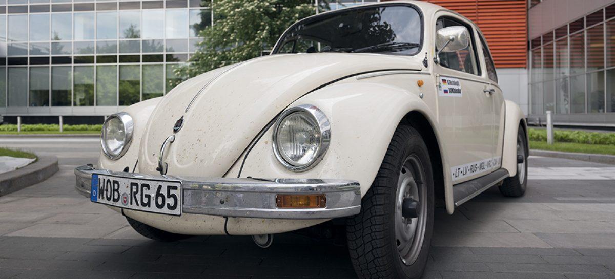 Кругосветное путешествие на Volkswagen Beetle